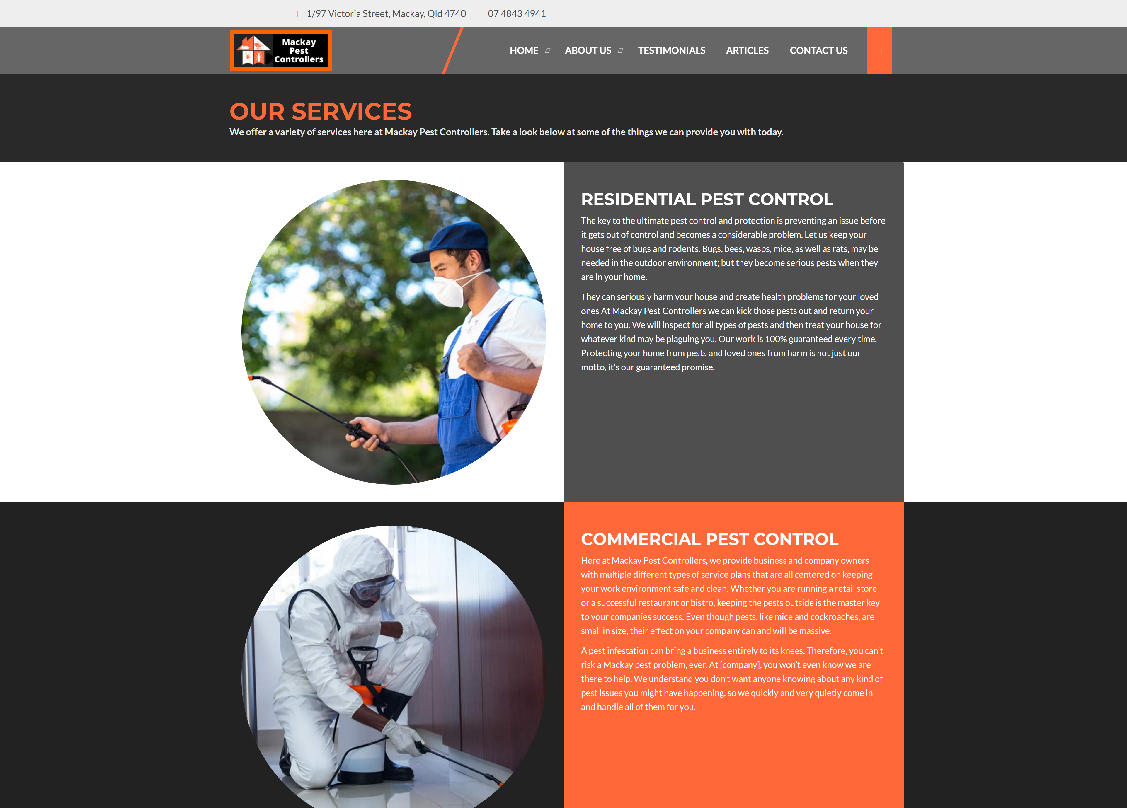 pest-control-website